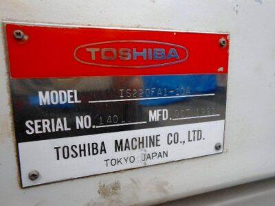 TOSHIBA IS220FA1-10A, Year 1991, screw 50㎜