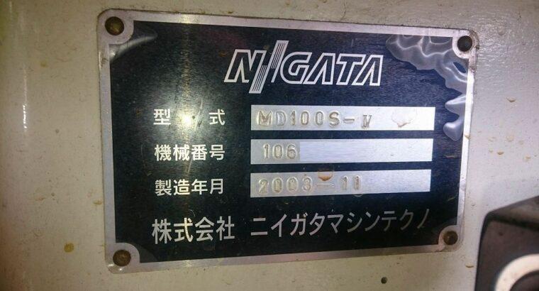 NIIGATA MD100S-Ⅳ-i2.7, Year 2003, Screw:32mm